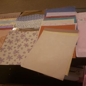 Scrapbook paper lot